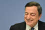 Le président de la BCE Mario Draghi à Francfort le 10 mars.