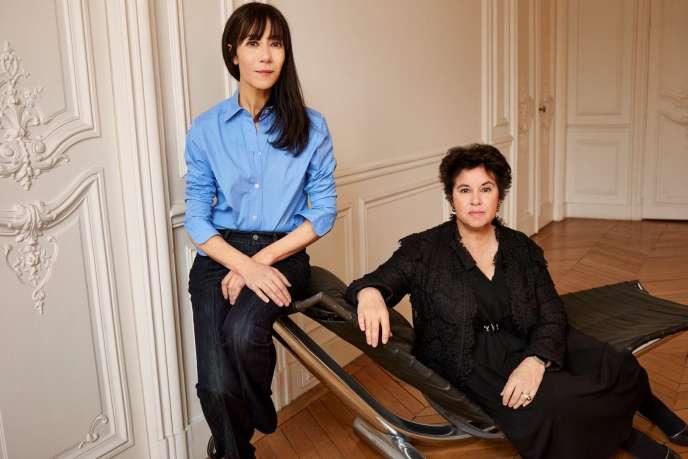 Bouchra Jarrar et Michèle Huiban, la PDG de Lanvin.