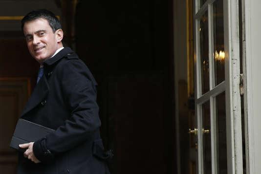Manuel Valls.  AFP / THOMAS SAMSON