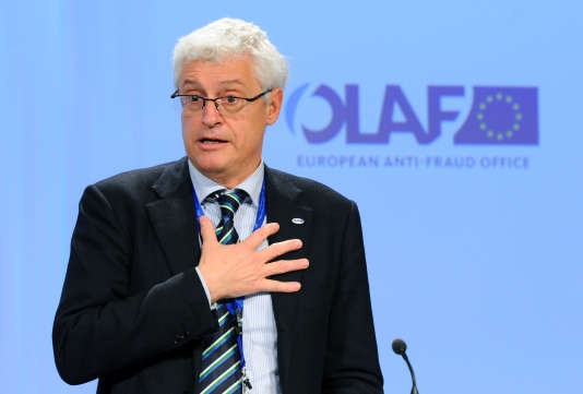 Giovanni Kessler, magistrat, homme politique italien, et directeur de l'Office européen de lutte antifraude, à Bruxelles.