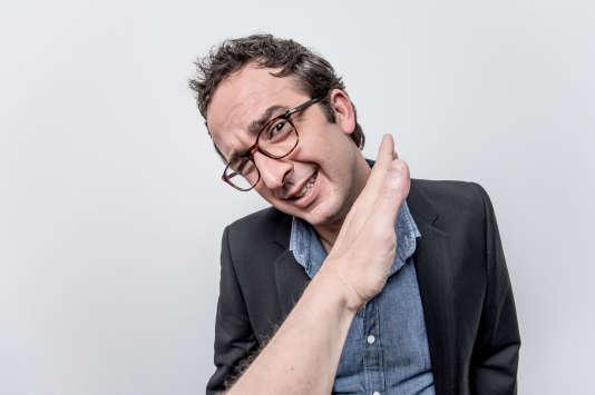 Cyrille Eldin,le nouvel animateur du « Petit Journal » de Canal+.