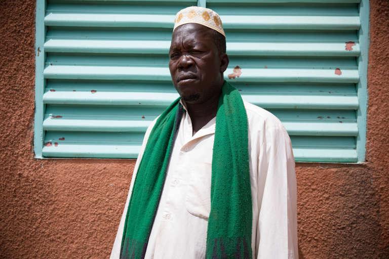 Amadou Diala, président du groupe koglweogo de Poure, au Burkina Faso.