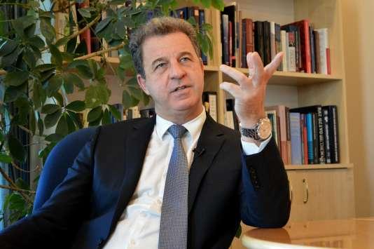 Serge Brammertz, le procureur du Tribunal pénal international pour l'ex-Yougoslavie, le 11 mars 2016.