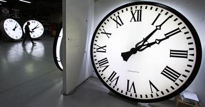 Le changement d'heure a eu lieu dans la nuit de samedi à dimanche 27 mars.