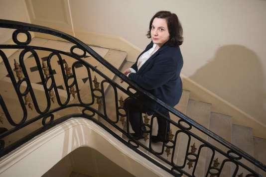Emmanuelle Cosse, ministre du logement, à Paris, le 11 mars 2016.