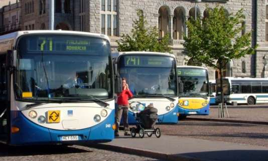Autobus d'Helsinki.