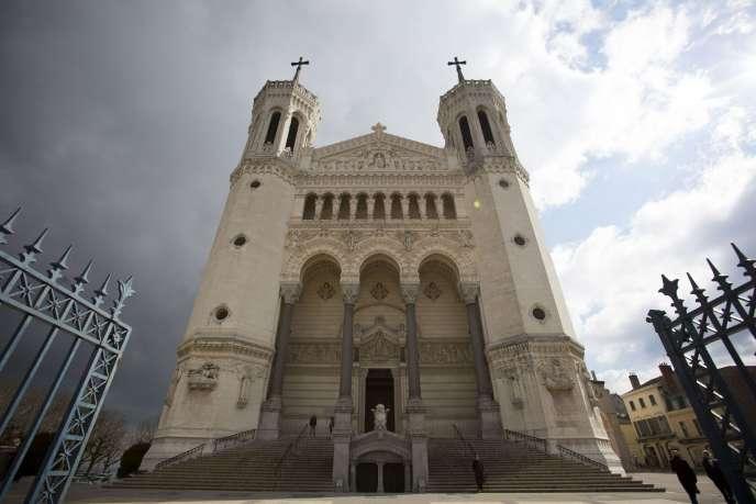 La basilique de Fourvière, à Lyon, le 8 mars 2016.