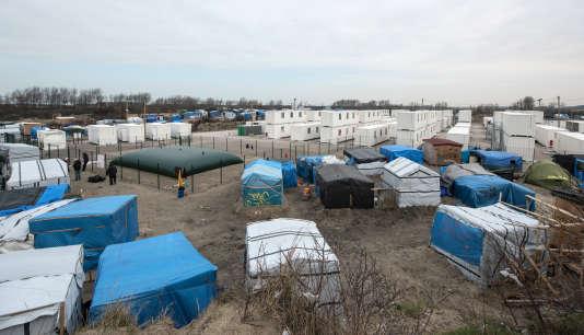 La «jungle» de Calais, le 10 mars 2016.