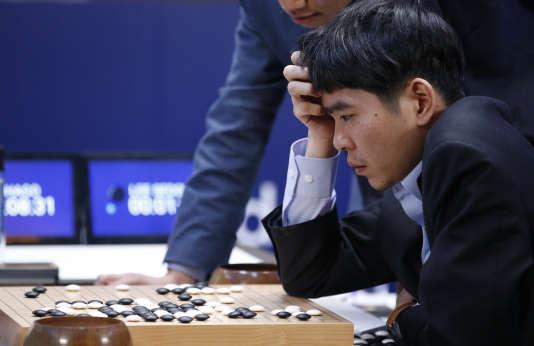 Lee Sedol, le 12 mars, à Séoul.