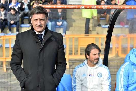 L'entraîneur marseillais Michel est dubitatif. L'OM ne gagne plus depuis six matchs.