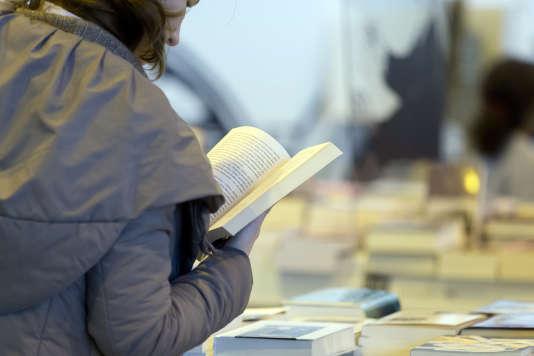 Lors du Salon du Livre de Paris en mars 2015.
