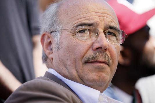 Jacques Salvator a été maire d'Aubervilliers de 2008 à 2014.