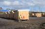 Les baraquements du campement d'accueil pour migrants de Grande-Synthe le 7 mars 2016.