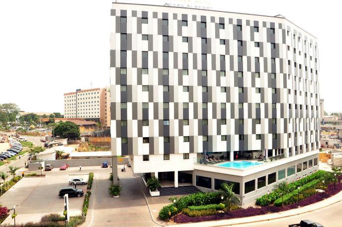 Le dernier né des hôtels Ibis Style, une marque du groupe AccorHotels, ouvert à l'aéroport d'Accra, au Ghana, en décembre 2015.