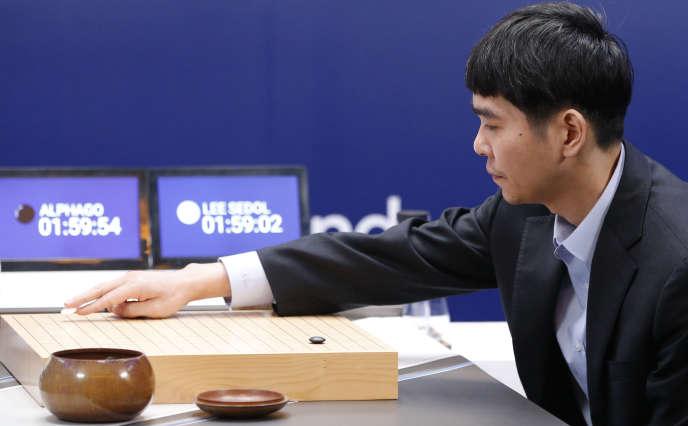 Le joueur professionnel de go sud-coréen Lee Sedol.