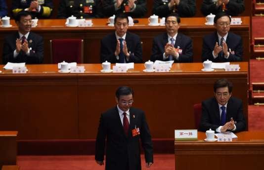 Le président de la Cour suprême chinoise, Zhou Qiang, a présenté le 13 mars son rapport annuel sur les condamnations dans le pays devant l'Assemblée nationale populaire, la chambre d'enregistrement législative du régime.