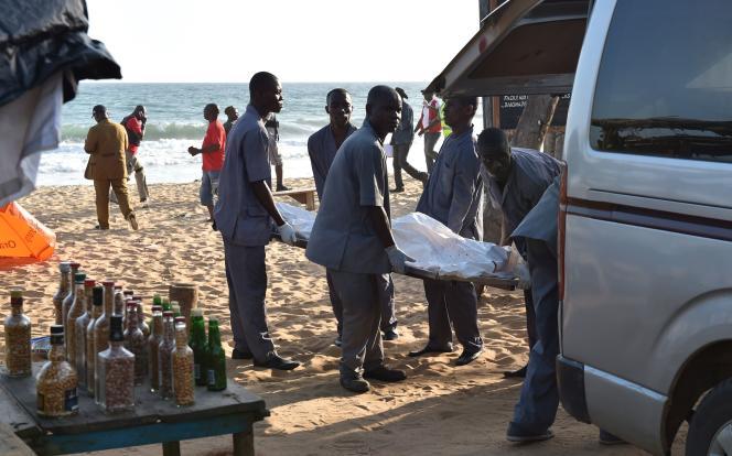 L'attentat en Côte d'Ivoire, dimanche 13 mars, a fait au moins 12 morts. / AFP / SIA KAMBOU