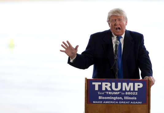 Le candidat à la primaire républicaine Donald Trump.