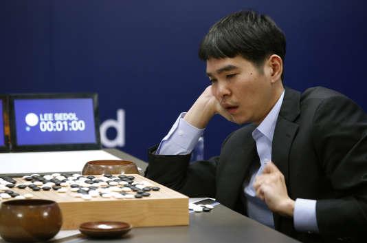 Le joueur de go sud-coréen Lee Sedol.