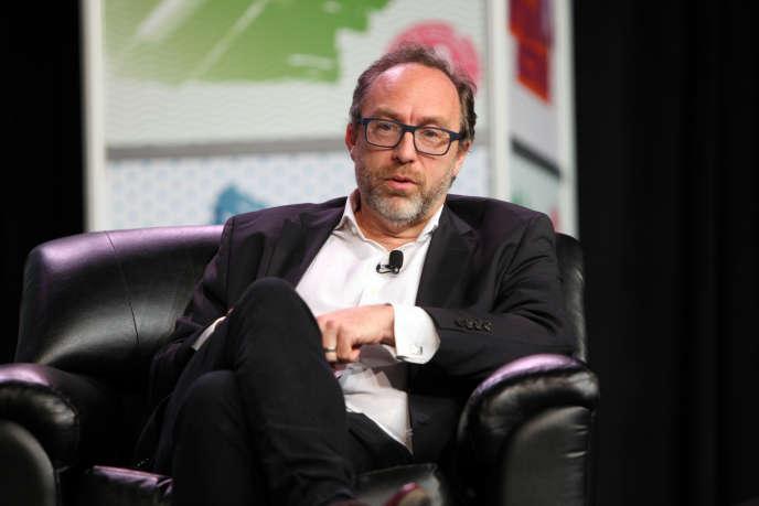 Jimmy Wales, le fondateur de Wikipédia, au festival South by Southwest, dimanche 13 mars.