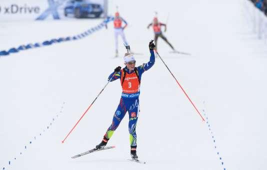 A Oslo, Marie Dorin-Habert a remporté six médailles en six courses.