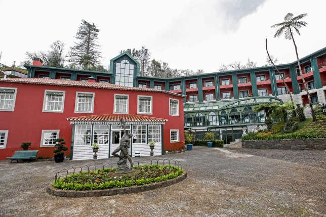 L'hôtel Quinta do Monte.