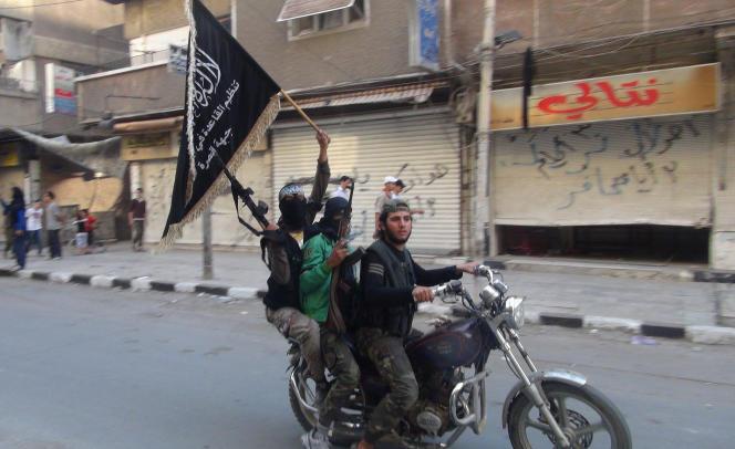 Des combattants du Front Al-Nosra en juillet 2014.