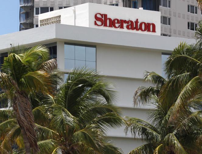 Le  Sheraton Fort Lauderdale Beach Hotel à Fort Lauderdale, Floride, le 25 juillet 2011.