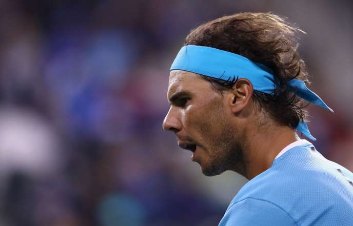 Rafael Nadal, le 13 mars 2016 au tournoi d'Indian Wells.