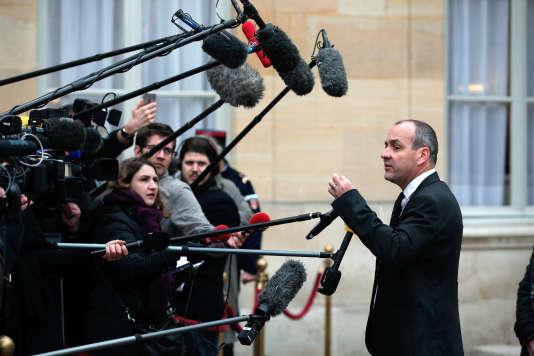 Laurent Berger, lundi, à l'issue de la présentation de la nouvelle loi travail.