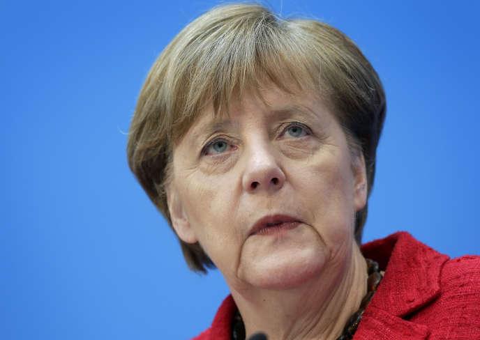 Angela Merkel, lundi 14 mars.