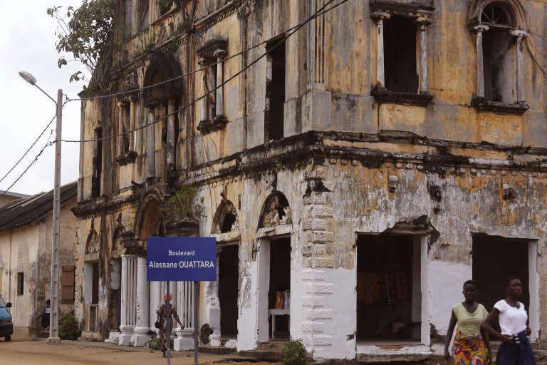 Dans la vieille ville de Grand-Bassam.