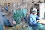 Transplantation de rein à l'hôpital Rangueil de Toulouse en août 2015.