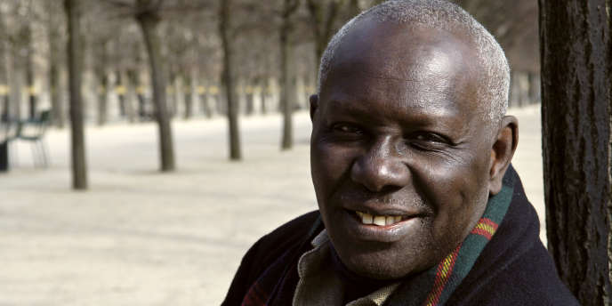 L'écrivain sénégalais Boubacar Boris Diop, le 15 mars 2006 à Paris.