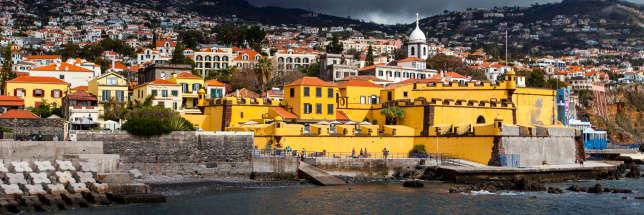 Le fortin de São Tiago, à Funchal.