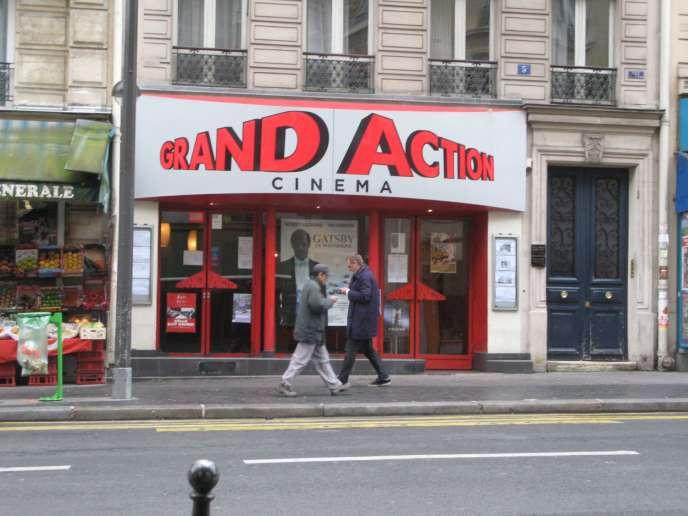 La façade de l'une des salles du circuit de cinéma Action, cofondé par Jean-Marie Rodon.