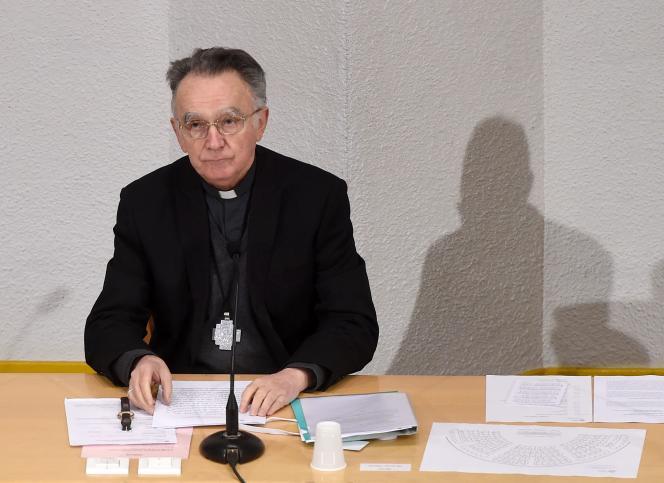 Georges Pontier à Lourdes le 15 mars.