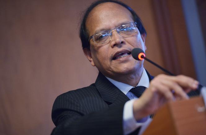 Atiur Rahman, gouverneur de la banque centrale du Bangladesh, qui a démissionné.
