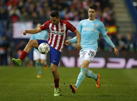 L'Atletico Madrid s'est qualifié pour les quarts de finale de la compétition européenne au terme d'une très indécise séance de tirs au but contre le PSV Eindhoven.