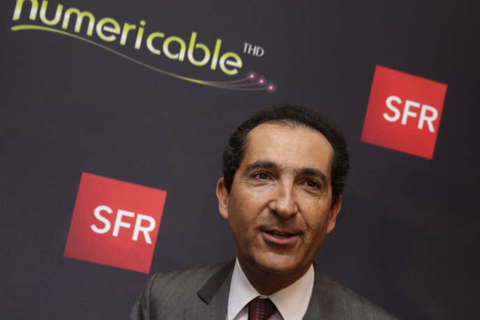 Patrick Drahi, le PDG d'Altice, maison-mère de Numericable-SFR.