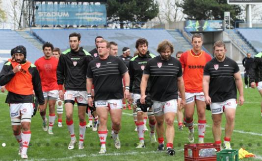 Les Lillois, à domicile, lors de la saison 2015-2016, avant d'affronter Saint-Médard.