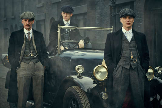 Paul Anderson, Joe Cole et Cillian Murphy, le clan Shelby.