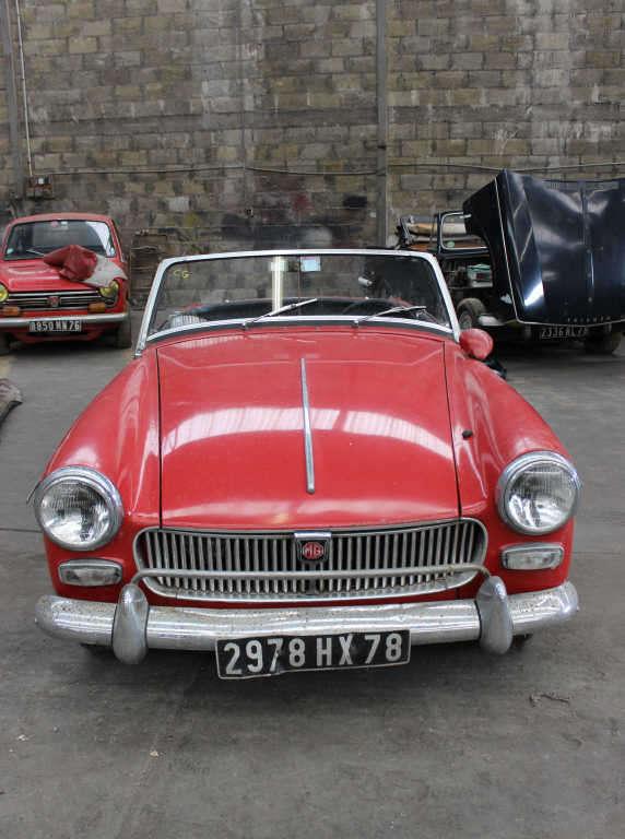 MG Midget, 1966.