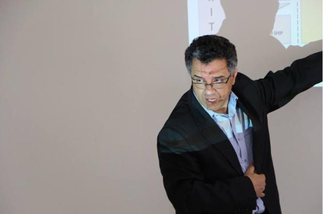 Alaya Bettaieb, dans les locaux de l'incubateur d'Esprit, à Tunis.