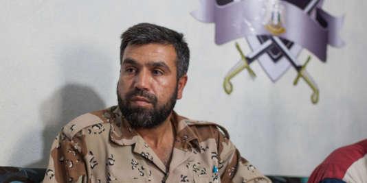Jamal Ma'arouf, ici le 16 juin 2013 dans la province d'Idlib.
