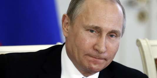 Le président russe Vladimir Poutine, le 7 mars.