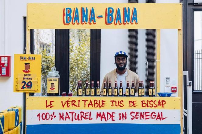 Youssouf Fofana, créateur de la marque de vêtements Maison Château Rouge, a également lancé Bana-Bana, une marque de bissap.
