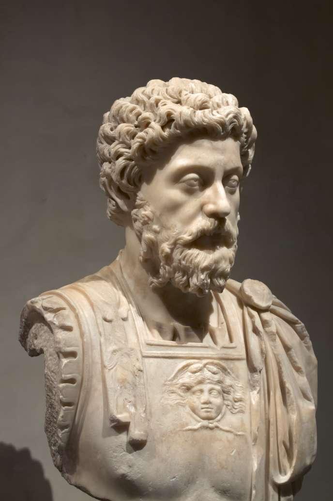 L'empereur Marc Aurèle (121-180).
