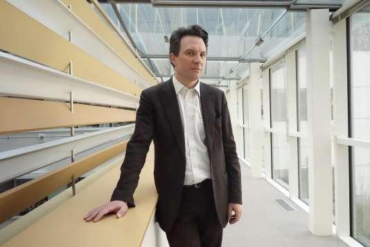 Camille Grand, directeur de la Fondation pour la recherche stratégique, dans les locaux du «Monde», le15mars.