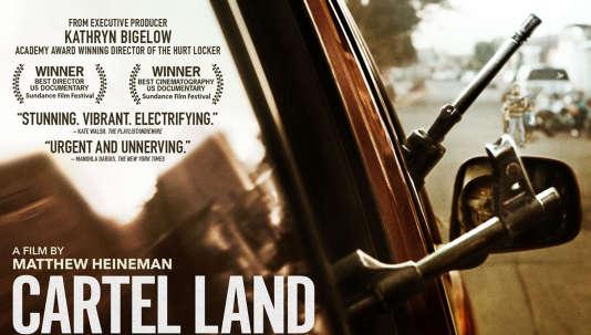 Une des affiches de «Cartel Land» de Matthew Heineman (2015).